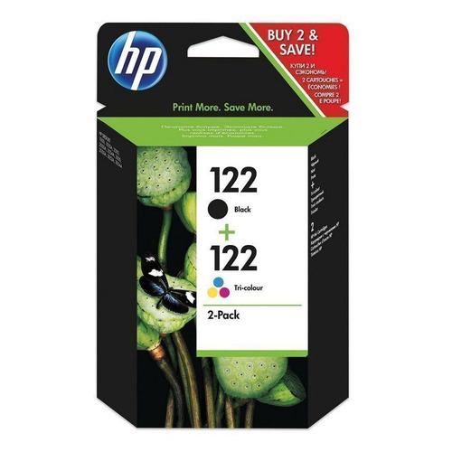 Картридж HP 122, черный / трехцветный [cr340he] картридж струйный hp 91 c9465a pigment 775 мл photo black для dj z6100