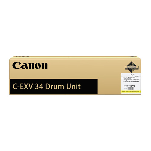 Блок фотобарабана Canon C-EXV34 Y 3789B003AA 000 для IR ADV C2020/2030 Canon wholesale compatible color toner cartridge for imagerunner advance c2020 c2030 for canon gpr36 c exv34 npg52