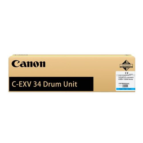 Блок фотобарабана Canon C-EXV34 C 3787B003AA 000 для IR ADV C2020/2030 Canon wholesale compatible color toner cartridge for imagerunner advance c2020 c2030 for canon gpr36 c exv34 npg52