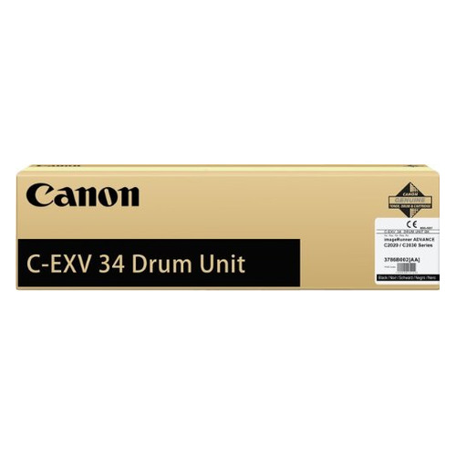 Блок фотобарабана Canon C-EXV34 BK 3786B003AA 000 для IR ADV C2020/2030 Canon cs cnpg28 toner laser cartridge for canon ir 2022i 2025 2030 2166j 2120j 2120s 2318l 2320 2320n 2420d 8 3k pages bk free fedex
