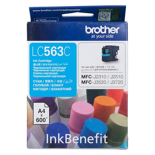 Картридж BROTHER LC563C, голубой стоимость