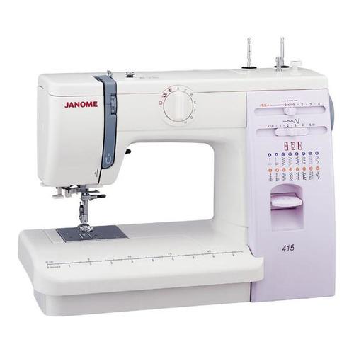 Швейная машина JANOME 415 белый цены онлайн