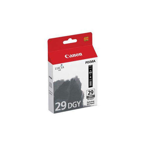 Картридж CANON PGI-29DGY, темно-серый [4870b001] цена и фото