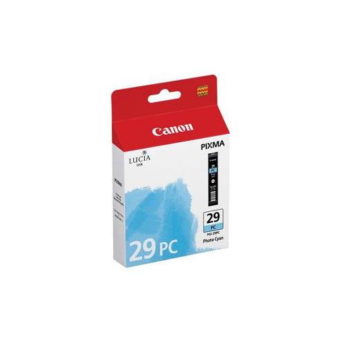 Картридж CANON PGI-29PC, фото голубой [4876b001] фотокартридж canon pgi 29pc для pro 1 голубой 400 страниц