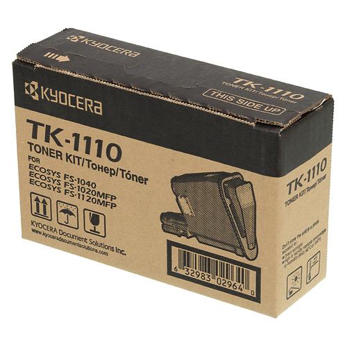 Фото - Картридж KYOCERA TK-1110, черный картридж nv print tk 1110 для kyocera fs 1040 1020mfp 1120mfp черный 2500стр