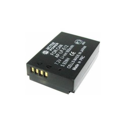 Аккумулятор ACMEPOWER AP-LP-E12, Li-Ion, 7.2В, 800мAч, для системных камер Canon EOS M аккумулятор canon lp e12