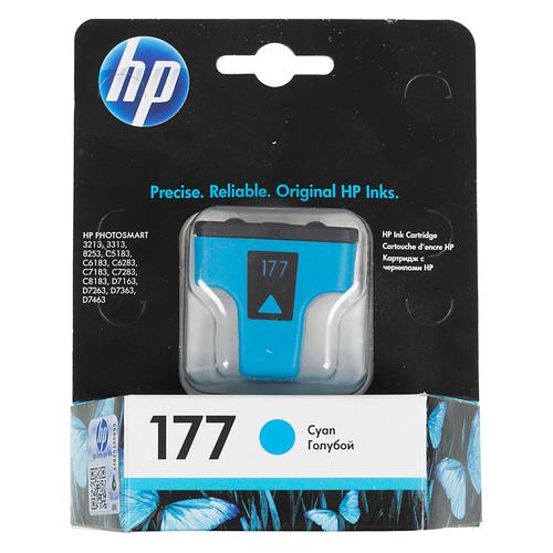 Картридж HP 177, голубой [c8771he] цена 2017