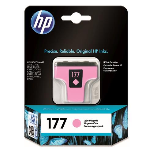 Картридж HP 177, светло-пурпурный [c8775he] картридж hp 70 светло пурпурный [c9455a]