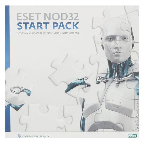 Базовая лицензия Eset NOD32 START PACK- базовый комплект безопасности ПК 1 ПК 1 год Box (NOD32-ASP-N цена