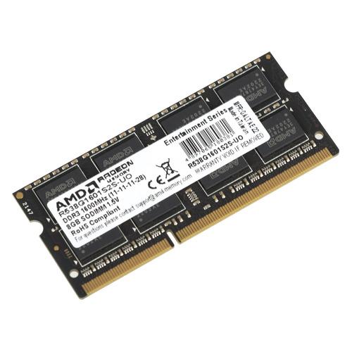 Модуль памяти AMD R538G1601S2S-UO DDR3 - 8Гб 1600, SO-DIMM, OEM все цены