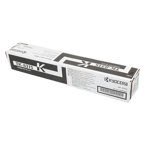 Картридж KYOCERA TK-8315K, черный картридж kyocera tk 7205 для kyocera taskalfa 3510i черный