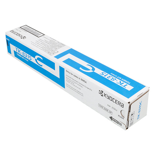 Картридж KYOCERA TK-8315C, голубой картридж kyocera tk 8315c 1t02mvcnl0