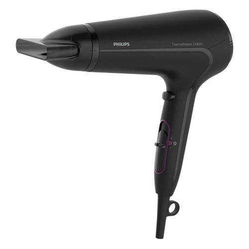 Фото - Фен PHILIPS HP8230, 2100Вт, черный и фиолетовый фен philips hp8230 drycare advanced черный