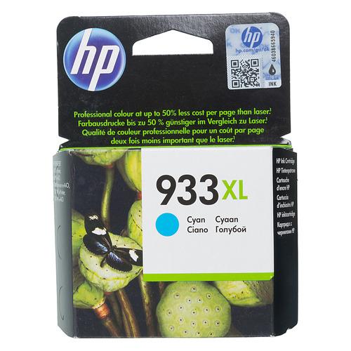Фото - Картридж HP 933XL, голубой [cn054ae] картридж hp cn054ae 933xl cyan для officejet 6100 6600 6700