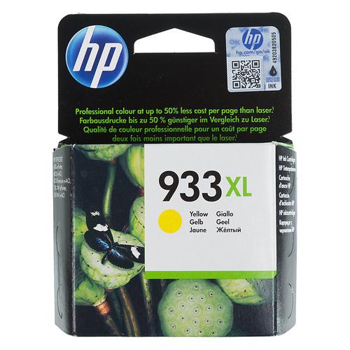 Фото - Картридж HP 933XL, желтый [cn056ae] картридж hp cn054ae 933xl cyan для officejet 6100 6600 6700
