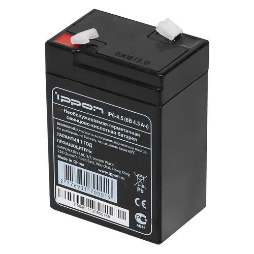 цена на Батарея для ИБП IPPON IP6-4.5 6В, 4.5Ач
