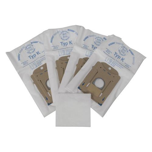 Пылесборники BOSCH BBZ41FK, универсальные, 4 шт., для пылесосов BOSCH и SIEMENS, один микрофильтр пылесборники bosch bbz41fk универсальные 4 шт для пылесосов bosch и siemens один микрофильтр