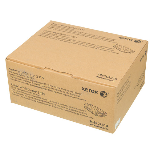 Картридж XEROX 106R02310, черный цена и фото
