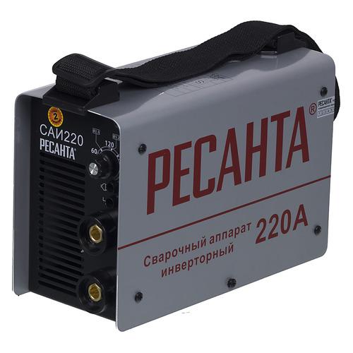цена Сварочный аппарат инвертор РЕСАНТА САИ-220 [65/3] онлайн в 2017 году