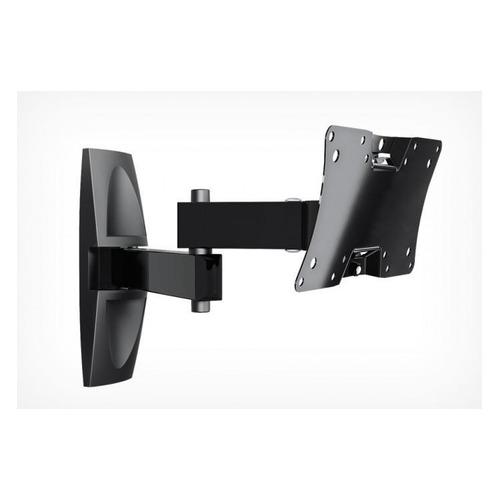 Фото - Кронштейн для телевизора HOLDER LCDS-5064, 10-32, настенный, поворот и наклон кронштейн для телевизора holder lcds 5071 37 55 настенный наклон