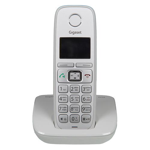 Радиотелефон GIGASET E310, серебристый все цены