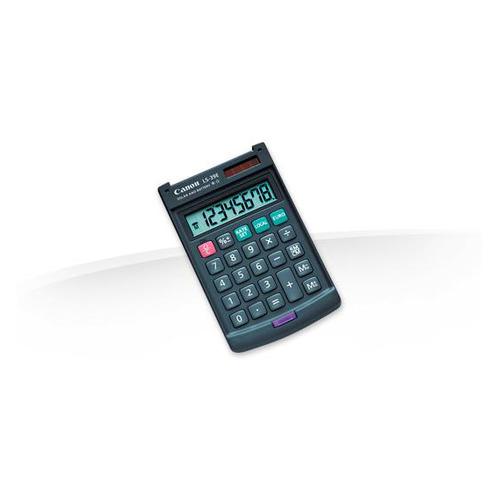 купить Калькулятор CANON LS-39E, 8-разрядный, темно-серый по цене 210 рублей