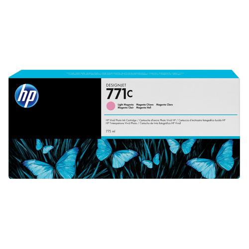 Картридж HP 771C, светло-пурпурный [b6y11a] картридж hp cn631a 772 для hp dj z5200 светло пурпурный