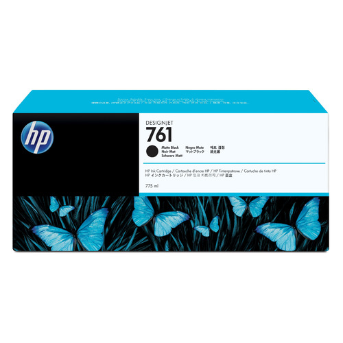 Картридж HP №761, черный матовый / CM997A