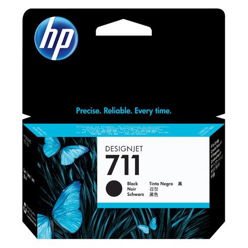 Картридж HP 711, черный [cz129a] картридж струйный hp 91 c9465a pigment 775 мл photo black для dj z6100