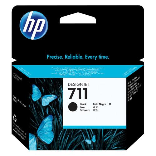 Фото - Картридж HP 711, черный / CZ133A картридж hp cz133a для hp dj t120 t520 черный