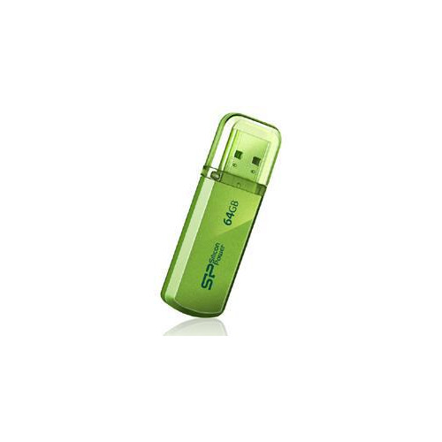 Фото - Флешка USB SILICON POWER Helios 101 64ГБ, USB2.0, зеленый [sp064gbuf2101v1n] флешка usb silicon power helios 101 64гб usb2 0 зеленый [sp064gbuf2101v1n]
