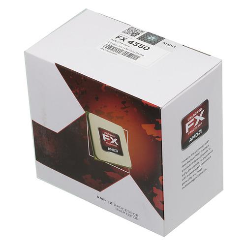 Процессор AMD FX 4350, SocketAM3+, BOX [fd4350frhkbox] недорого