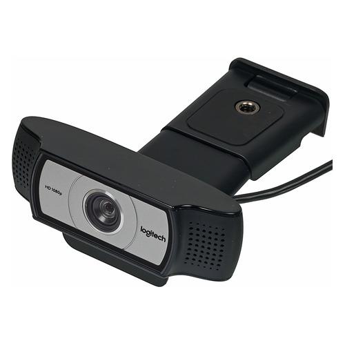 Фото - Web-камера LOGITECH HD Webcam C930e, черный и серебристый [960-000972] веб камера logitech hd webcam c930e 3мп 1920x1080 объектив carl zeiss микрофон usb