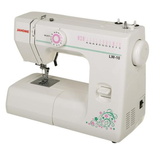 цена на Швейная машина JANOME LW-10 белый