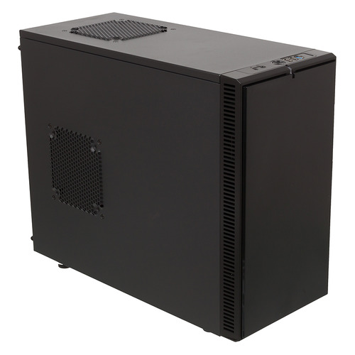 цена на Корпус mATX FRACTAL DESIGN Define Mini, Mini-Tower, без БП, черный
