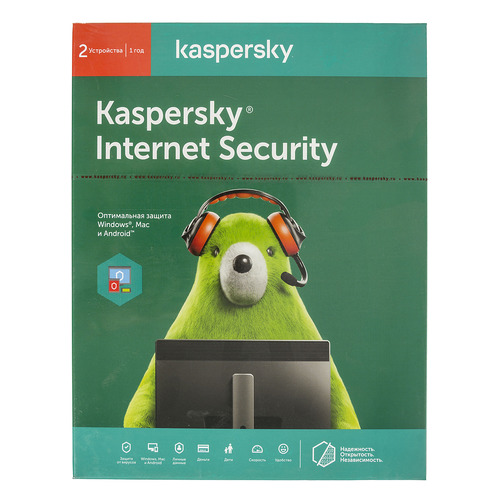 ПО Kaspersky Internet Security Multi-Device Russian Ed 2 устройства 1 год Base Box (KL1941RBBFS) panda internet security 2016 3 устройства 3 года цифровая версия