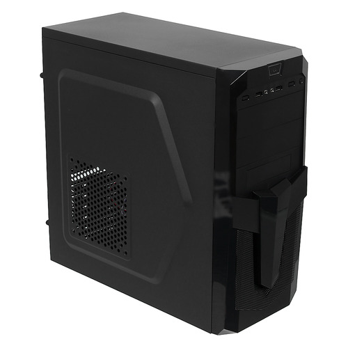 Корпус ATX ACCORD P-25B, Midi-Tower, без БП, черный корпус accord p 25b black