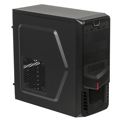 Корпус ATX ACCORD P-26B, Midi-Tower, без БП, черный корпус accord p 25b black