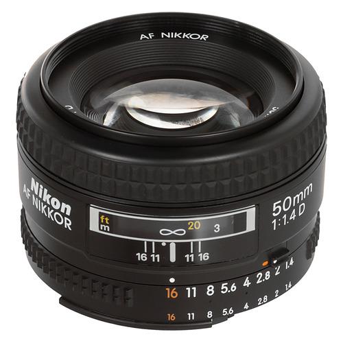 Фото - Объектив NIKON 50mm f/1.4 AF Nikkor, Nikon F [jaa011db] объектив nikon 50mm f 1 4d af