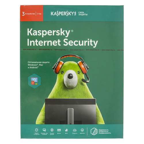 ПО Kaspersky Internet Security Multi-Device Russian Ed 3 устройства 1 год Base Box (KL1941RBCFS) panda internet security 2016 3 устройства 3 года цифровая версия