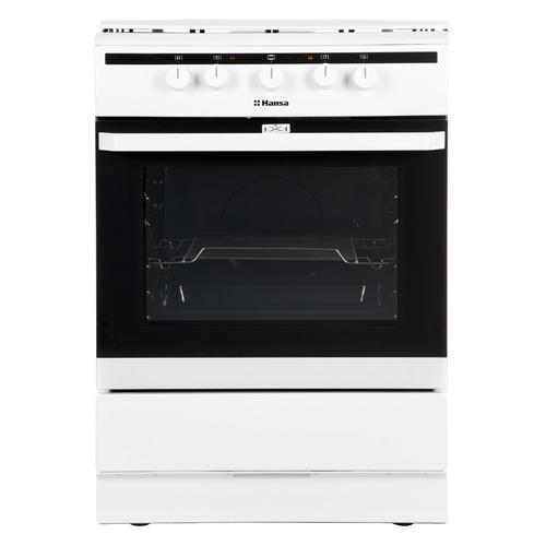 Газовая плита HANSA FCMW63000, электрическая духовка, белый
