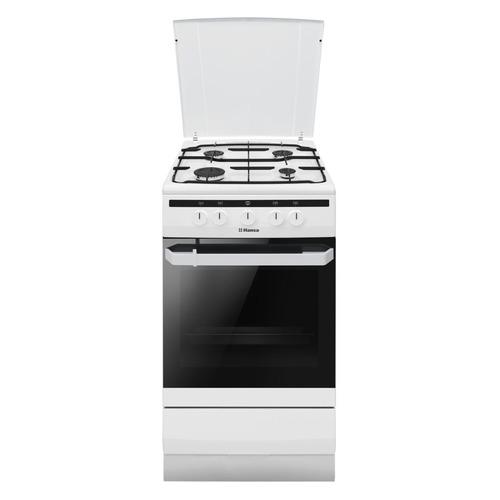 Газовая плита HANSA FCGW51003, газовая духовка, белый