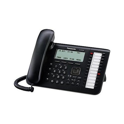 IP телефон PANASONIC KX-NT546RU-B цена и фото
