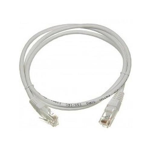 Патч-корд Lanmaster UTP (TWT-45-45-1.0-GY) вилка RJ-45-вилка RJ-45 кат.5е 1м серый ПВХ (уп.:1шт) кабель патч корд lanmaster вилка rj 45 вилка rj 45 кат 5е пвх 0 3м серый [twt 45 45 0 3 gy]