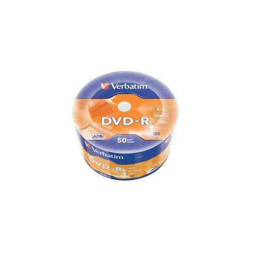 цены Оптический диск DVD-R VERBATIM 4.7Гб 16x, 50шт., 43788, bulk