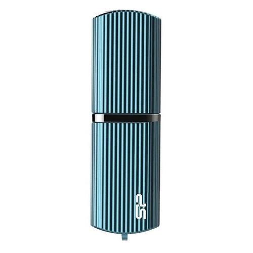 Фото - Флешка USB SILICON POWER Marvel M50 16Гб, USB3.0, голубой [sp016gbuf3m50v1b] флеш диск silicon power 16gb marvel m50 синий sp016gbuf3m50v1b