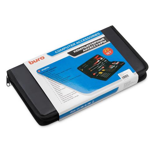 Набор инструментов BURO TC-1111, 25 предметов набор инструментов condtrol wall set 46 предметов