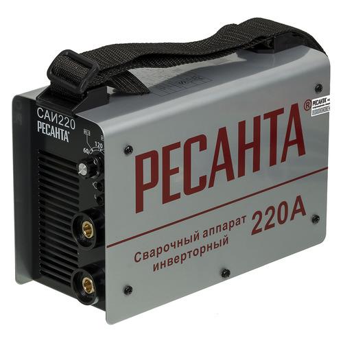цена Сварочный аппарат инвертор РЕСАНТА САИ-220, кейс [65/22] онлайн в 2017 году