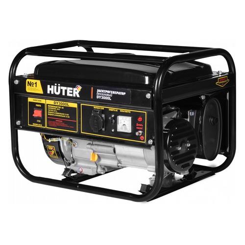 Бензиновый генератор HUTER DY3000L, 220 В, 2.8кВт [64/1/4] бензиновый генератор huter dy3000l