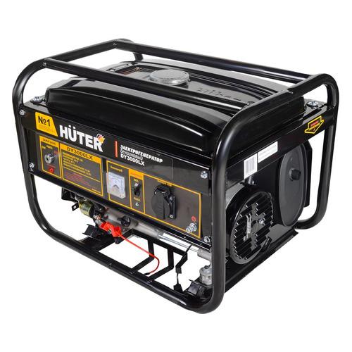 Фото - Бензиновый генератор HUTER DY3000LX, 220, 2.8кВт [64/1/10] бензиновый генератор huter dy3000lx 2500 вт